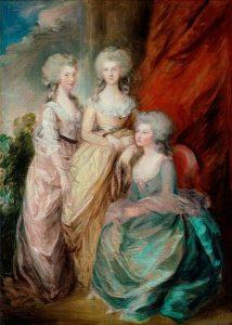 Three daughters of George III
