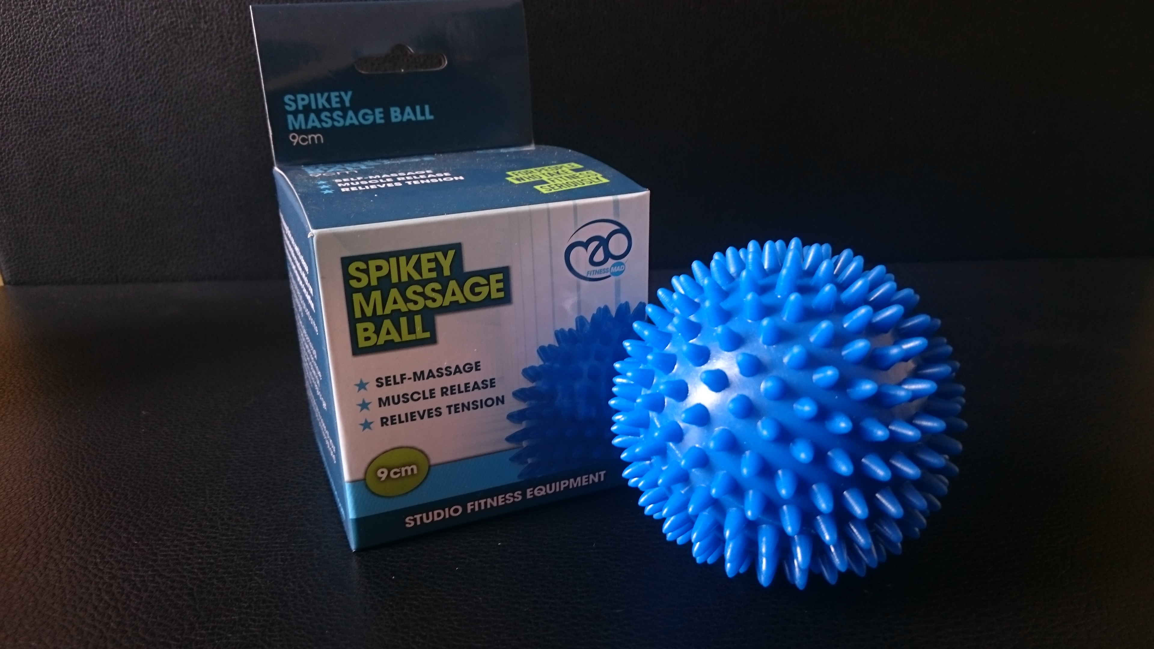 massage ball , firm spikes