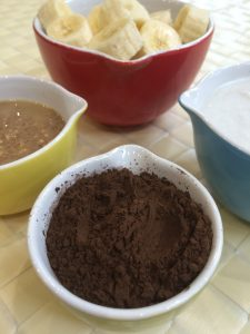 carob smoothie ingredients