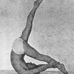 "Joseph Pilates image from his book ""Contrology"""