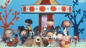 picture of all of the magic Roundabout characters