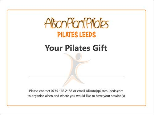 Pilates Gift Cards